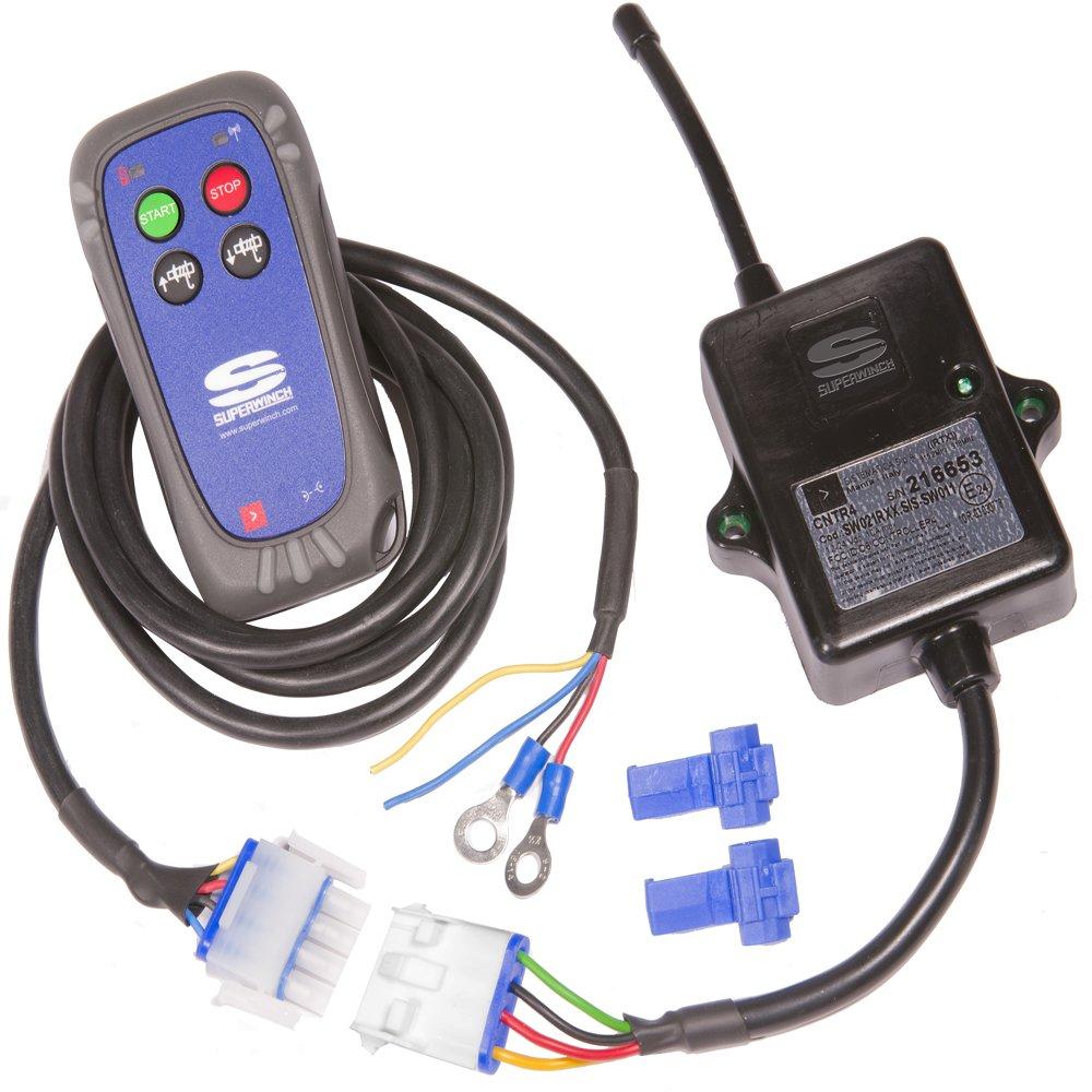 Superwinch 06716 12vdc Certus Wireless System For Terra Series Atv Winch Wiring Diagram Automotive