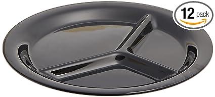 Amazon.com: Carlisle 3300003 Sierrus 3-Compartment/Divided Melamine ...