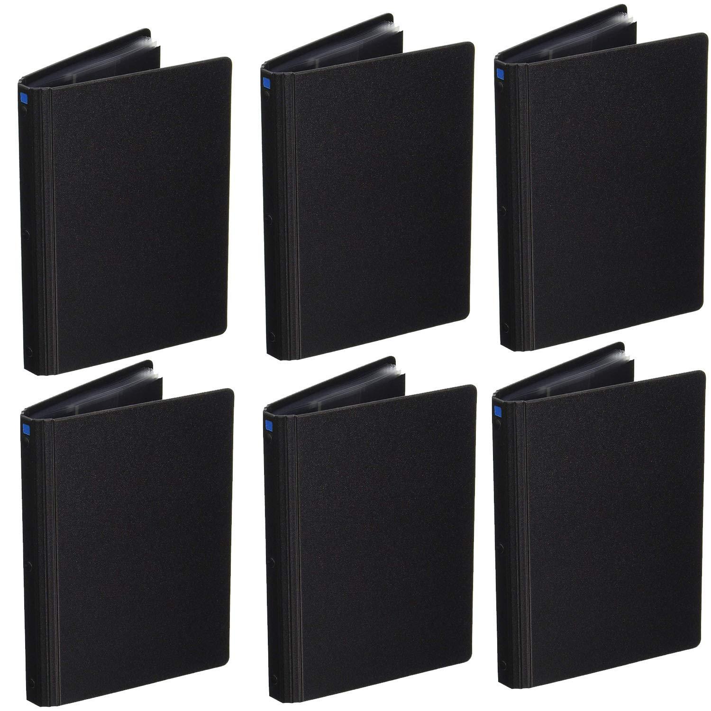 Itoya Art Profolio Advantage 4x6 Inch Presentation Display Book 6 Pack Kit + Photo4less Cleaning Cloth by ITOYA