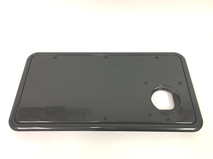 Chrome Entry Door Hardware RV Designer E221 10 inch Grab Handle