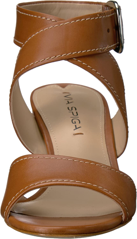 VIA SPIGA Sandales pour Femme Cuoio Cuir