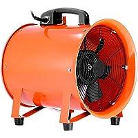 Mophorn Ventilador Profesional para Construcción Ventilador de Piso Industrial 220 V Ventilador de Tambor