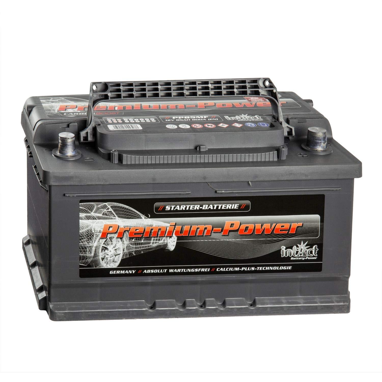 intAct Premium Power PP85MF Autobatterie 12V 85Ah
