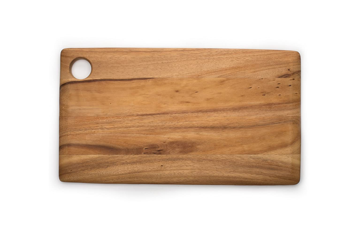 Ironwood Gourmet 28215 Rectangular Everyday Cutting Board, Acacia Wood