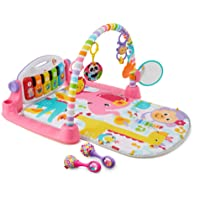 Deals on Fisher-Price Deluxe Kick 'n Play Piano Gym & Maracas Bundle