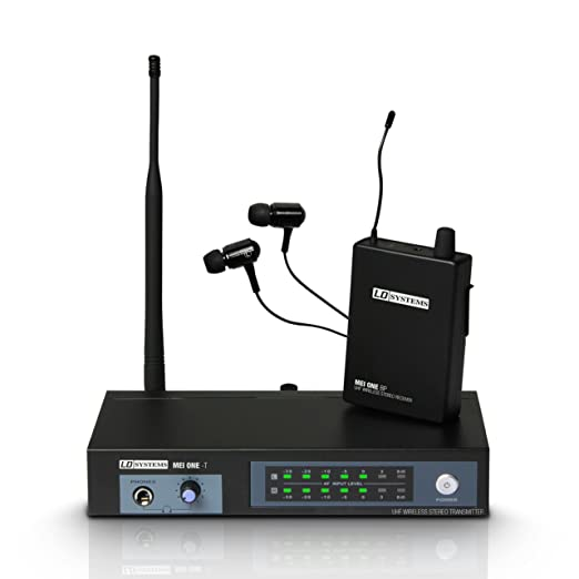"""6 opinioni per 'LD Systems ldmeione3""""Mei One in Ear Monitoring System Wireless 864,900MHz"""