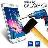 A&D® FILM PROTECTION Ecran en VERRE Trempé pour SAMSUNG GALAXY S6 filtre protecteur d'écran INVISIBLE & INRAYABLE vitre INCASSABLE pour Smartphone Galaxi S 6 SVI 4G 4G+ SM-G920F SM G920 G920F