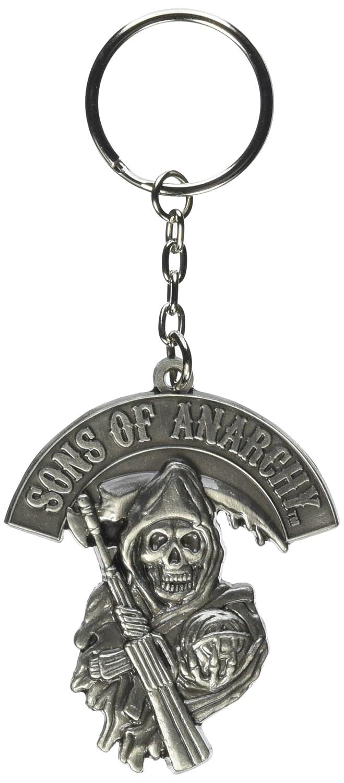 Sons of Anarchy Grim Reaper Logo Llavero metal: Amazon.es ...