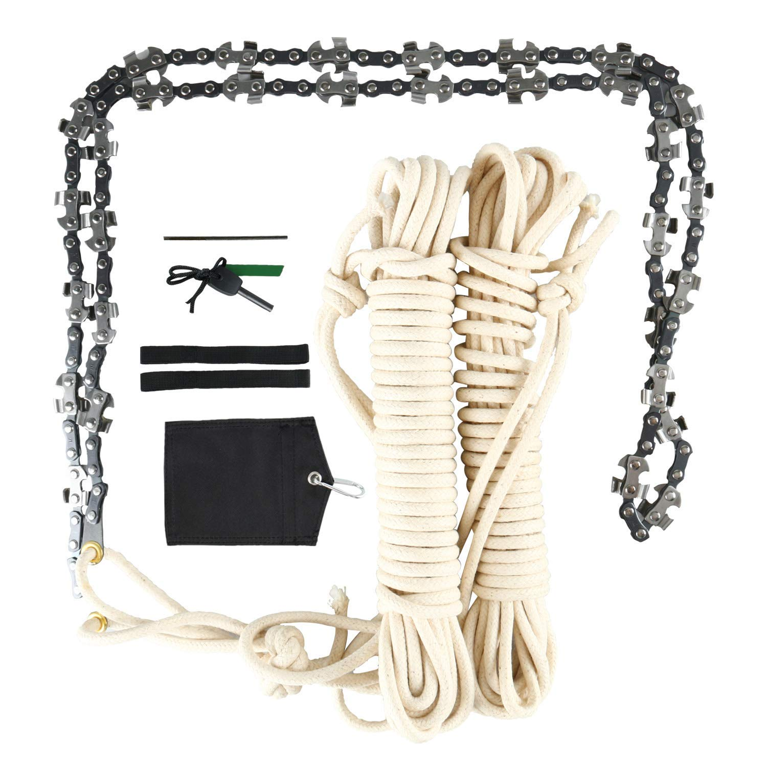 STABLEWARE 48 Inch High Reach Tree Limb Hand Rope Chain Saw by STABLEWARE
