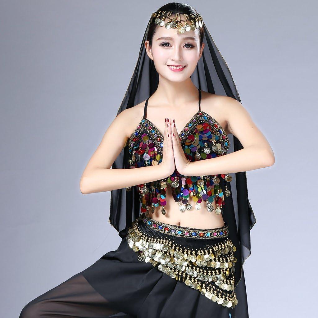 28cm Baoblaze Ceinture Jupe Costume Tenue Foulard Robe Danse Orientale Femme-Longueur Longueur de frange 75cm Largeur 150cm