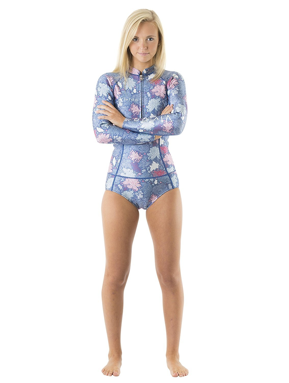 4871020c07d02 Vivida Lifestyle Women s Adult Neoprene Supportive Linda Wetsuit Surf Suit  Swimwear