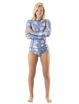 fbea7006168 Vivida Lifestyle Traje de Neopreno Linda Mujer - Azul Floral