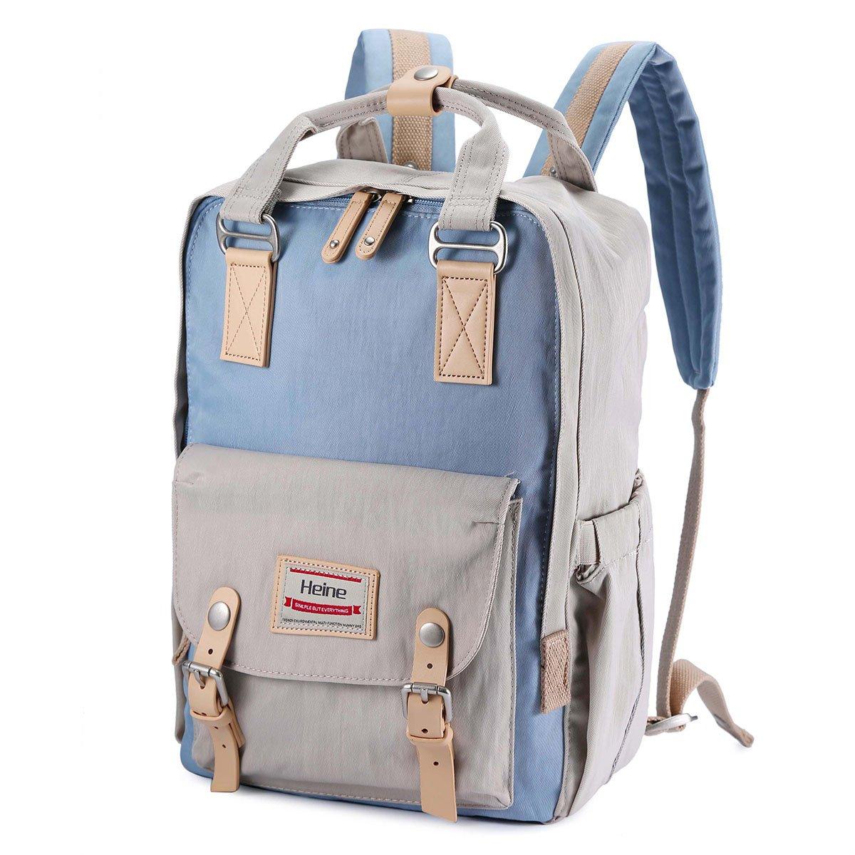 Diaper Bag Baby Bag Mother bag Travel Backpack Quality Diaper Bag Backpack Daypack Multi-Function Waterproof Nappy Bags (Light Gray) Kissfairy