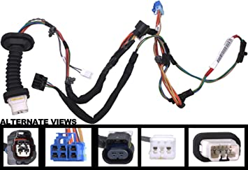 71 17 ul9zL._SX355_ amazon com apdty 133803 power door lock wiring pigtail connector dodge ram rear door wiring harness at readyjetset.co