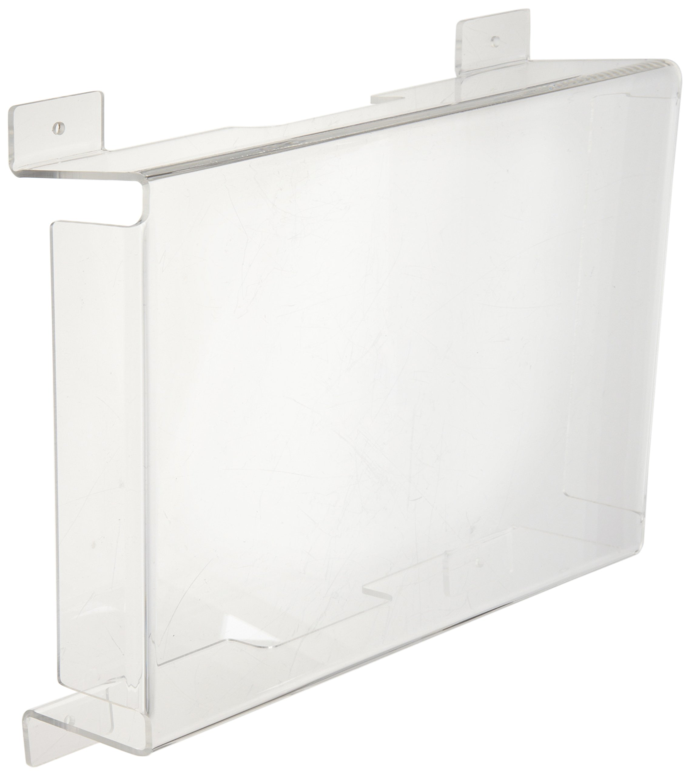 Morris Products 73090 Polycarbonate Vandal/Environmental Shield Guard Exit Light, 15'' Width, 6'' Depth, Used With Exit Lights & Cast Aluminum Exit Lights