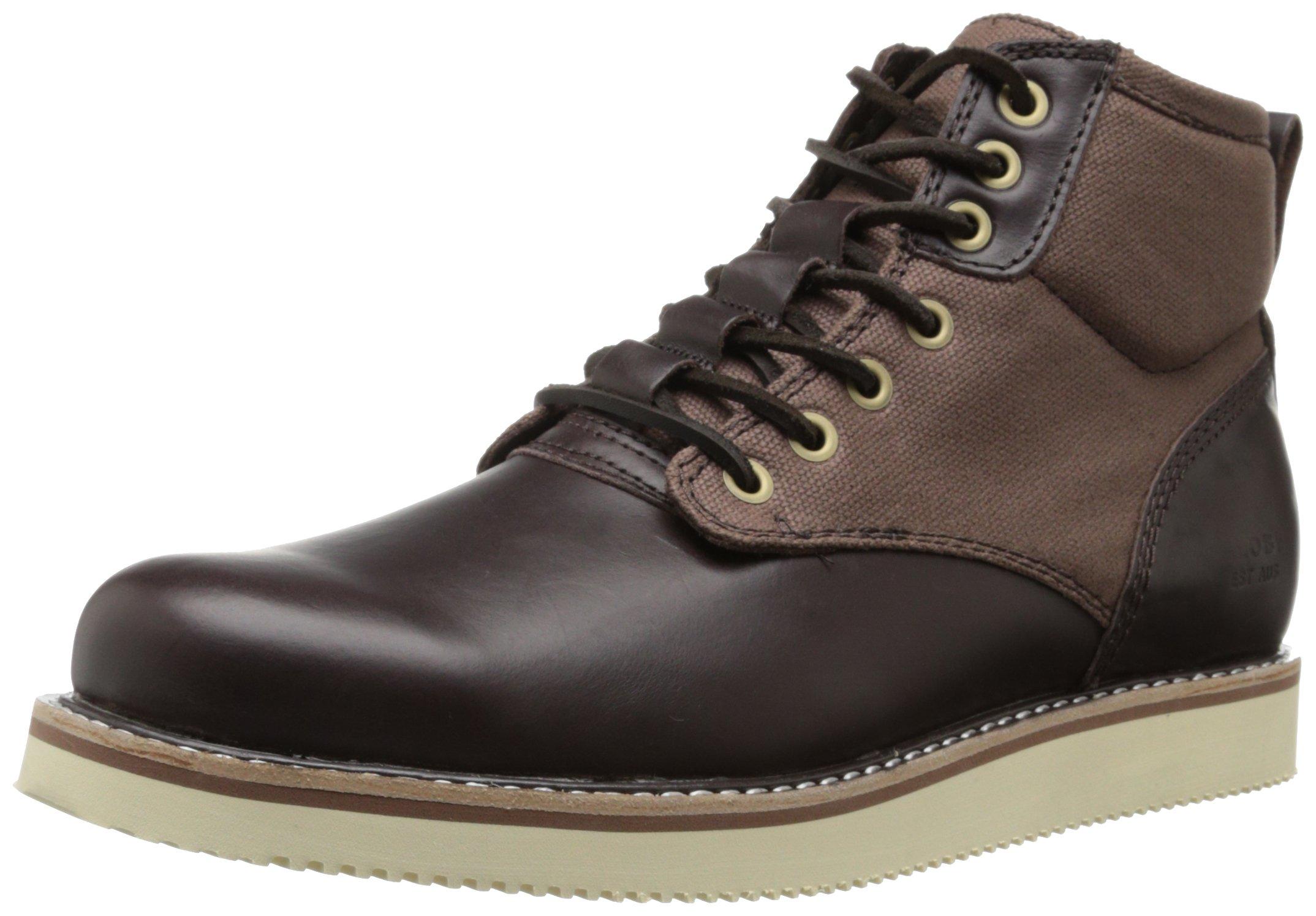 Globe Men's Nomad Boot Sneaker,Brown,8 M US