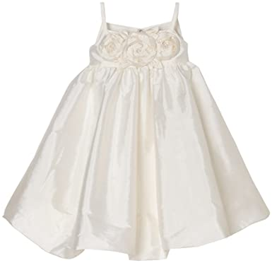 c5695a4e73f Amazon.com  Us Angels Big Girls  Bubble Dress With Floral Bodice  Special  Occasion Dresses  Clothing
