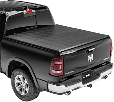 Amazon Com Lund Genesis Tri Fold Soft Folding Truck Bed Tonneau Cover 950121 Fits 2014 2021 Toyota Tundra W Track System 6 7 Bed 78 7 Automotive
