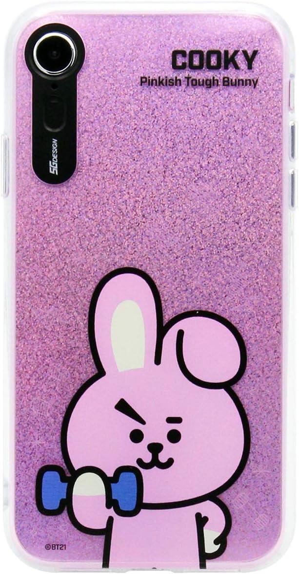 Funda para iPhone XR, BTS BT21 oficial con luz para teléfono móvil básico (diseñada por Bangtan Boys) Kpop: Amazon.es: Electrónica