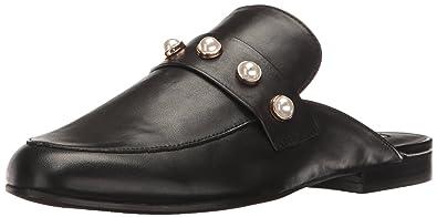 c1704c46d8c Steve Madden Women s Kandi-p Slip-On Loafer Black Leather 9.5 ...