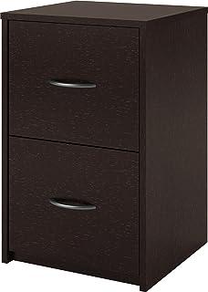 altra core 2 drawer file cabinet espresso