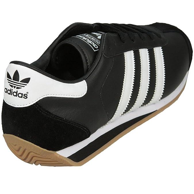 Adidas country ii g17073 herren schuhe schwarz [47,5, uk 12