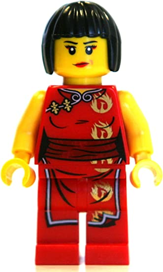 LEGO Ninjago Minifigure - Nya Female Red Ninja