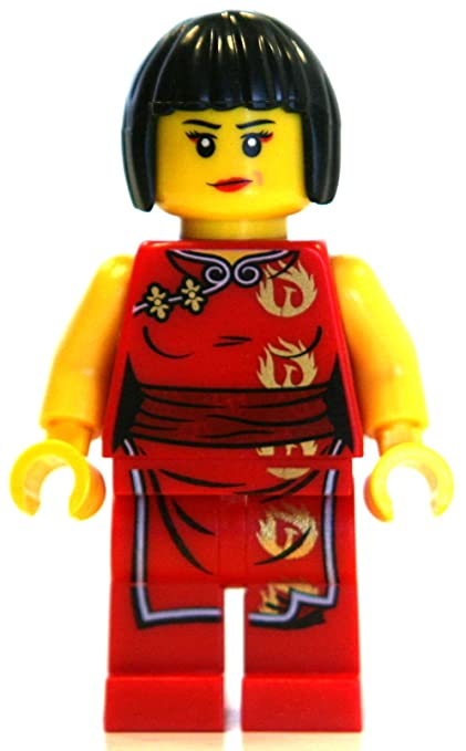 amazon com lego ninjago minifigure nya female red ninja toys games