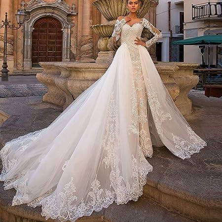 Vestido de novia Damas de boda atractivo de la sirena vestido de ...