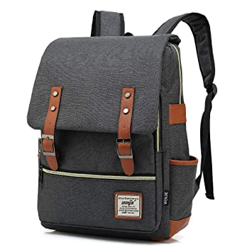 6f16efa18f6 School Bags for Girls and Boys,HITOP Laptop Backpack Waterproof,Lightweight  Bookbags for Men