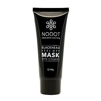 Nodot Blackhead - Máscara de despegar con carbón activo y vitaminas, limpieza profunda de poros