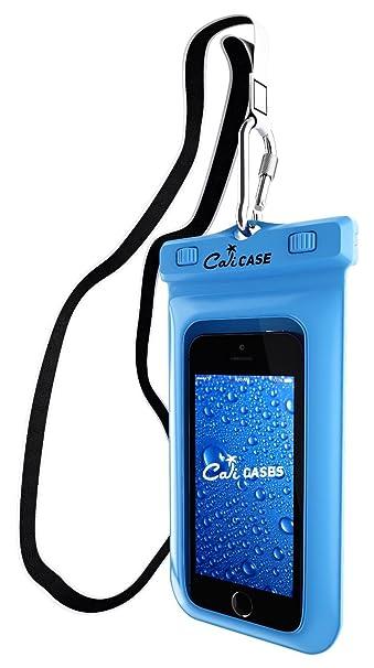 CaliCase Universal Waterproof Floating Case - Blue