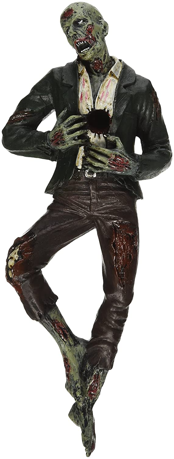 Death Desk Accessories - Impaled Zombie Figure - Pencil Holder - Zombie Decorations
