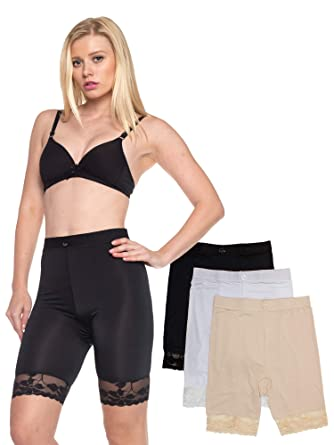 159487bf2bfad Image Unavailable. Image not available for. Color  Slip Shorts for Women  Small to 5XL Plus Size ...
