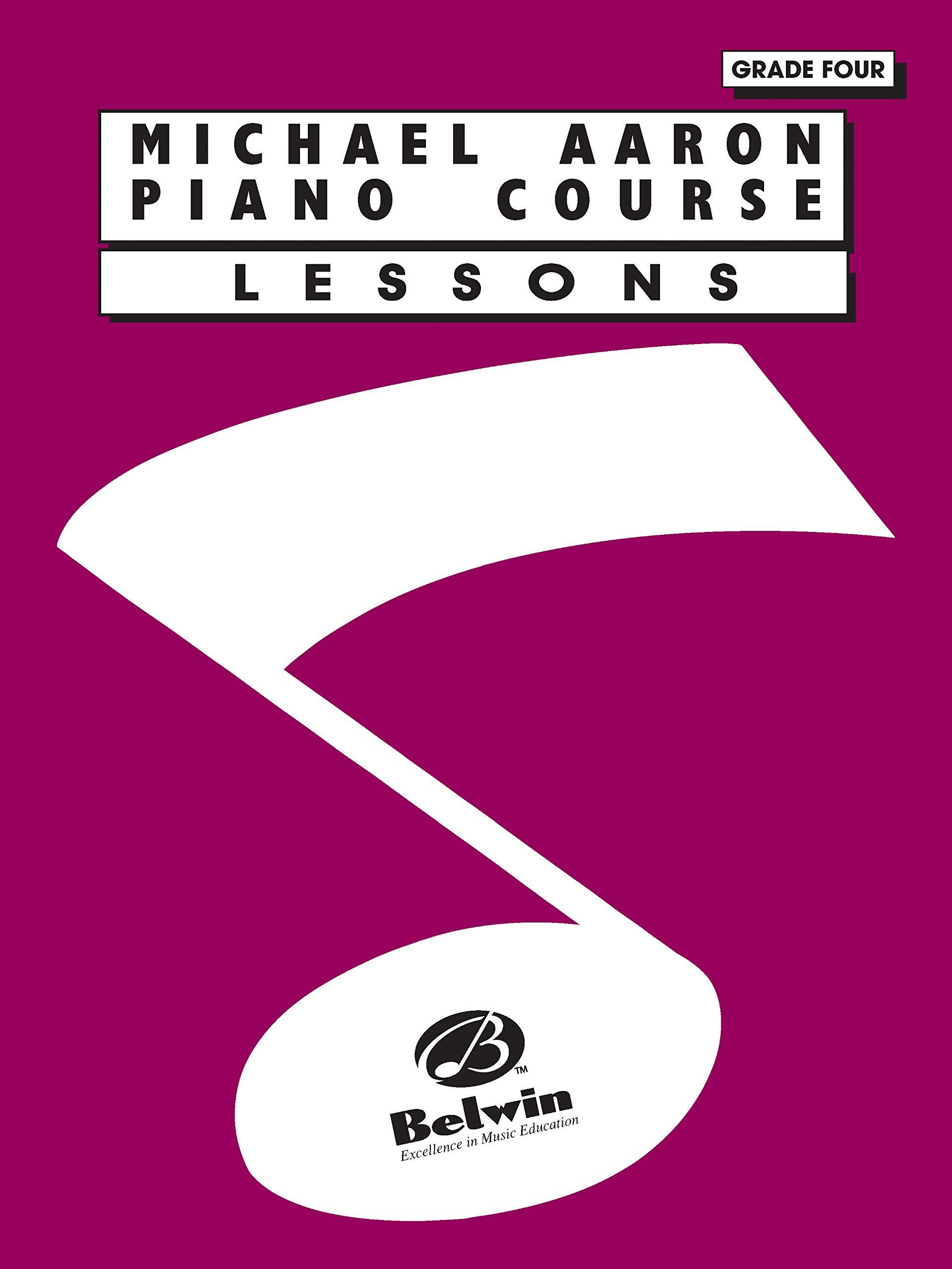 Michael Aaron Piano Course: Lessons, Grade 4: Amazon.es ...