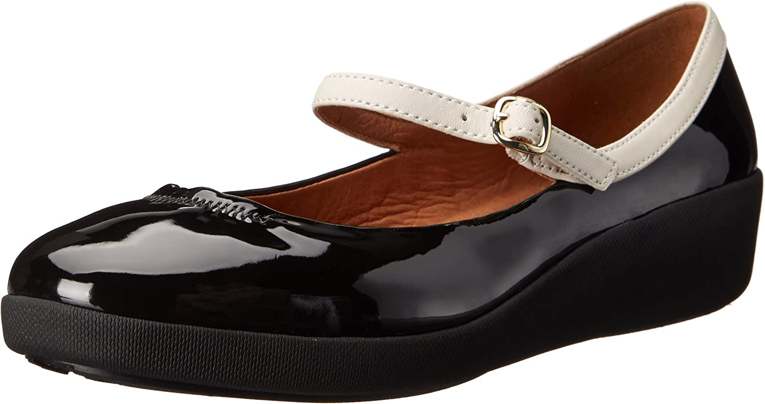 Womens Nude Patent Leather F-Pop Mary Jane Shoes - BrandAlley