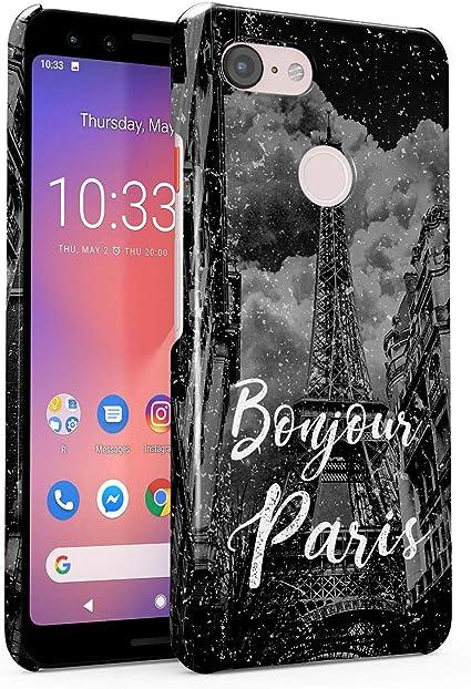 Funda Protectora de Plástico Duro Para Google Pixel 3 Francia ...