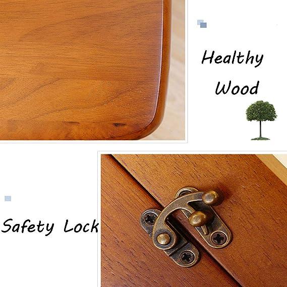 Taburete plegable de madera con escalones 4 niveles Escalera ...