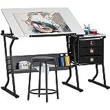 Studio Designs Eclipse Center, Black with White