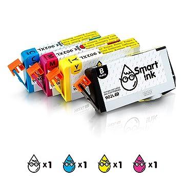 Amazon.com: Smart cartucho de tinta remanufacturado de tinta ...