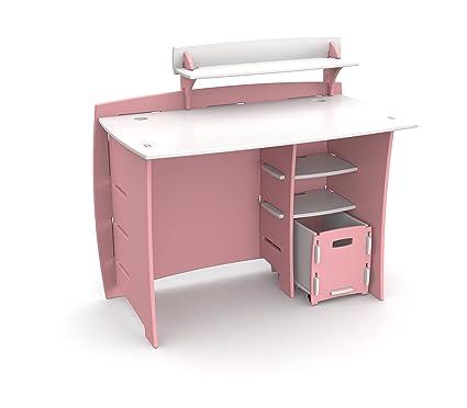 Merveilleux Legaré Kids Furniture Princess Series Collection, No Tools Assembly 43 Inch  Complete Desk System
