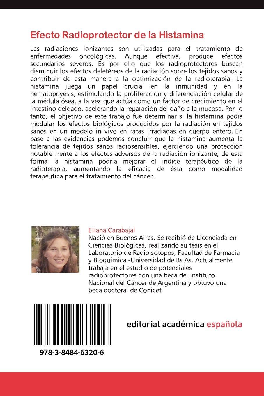 Efecto Radioprotector de La Histamina: Amazon.es: Eliana ...