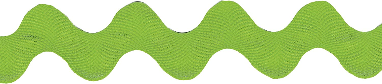 Wrights Polyester Rick Rack Ribbon, 1-1/2-Inch, Apple Green
