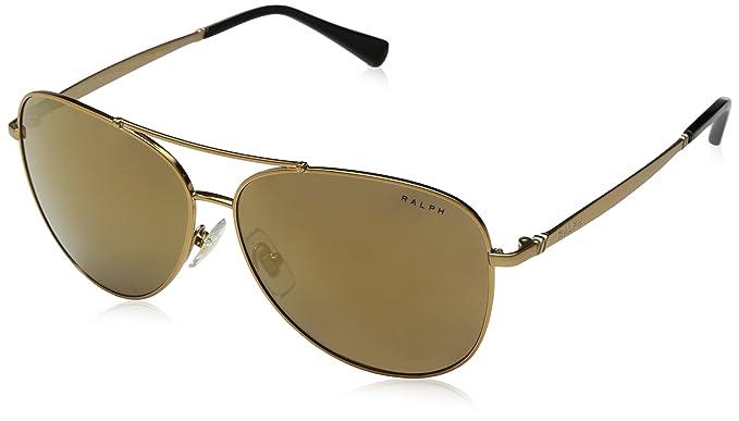 Ralph Lauren RALPH BY 0RA4125 Gafas de sol, Light Bronze, 59 ...