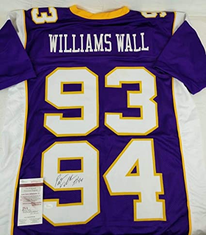 a87b387fdda Pat Williams Vikings Signed
