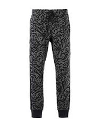 nike mens knows print cuffed fleece jogger pants