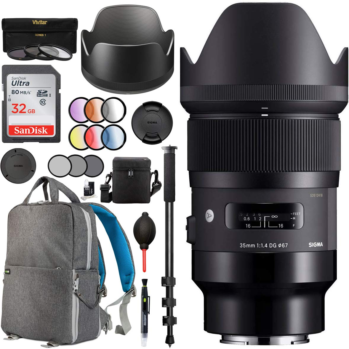 58mm CPL UV FLD filter kit for Olympus E-510 E-410 USA