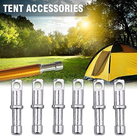 10Pcs/Set 8.5mm DIA Tent Pole End Plugs Aluminium Alloy Tent Pole Replacement Accessory  sc 1 st  Amazon.com & Amazon.com : 10Pcs/Set 8.5mm DIA Tent Pole End Plugs Aluminium ...