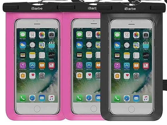 Amazon.com: iBarbe - Funda impermeable para iPhone 7, 7 Plus ...