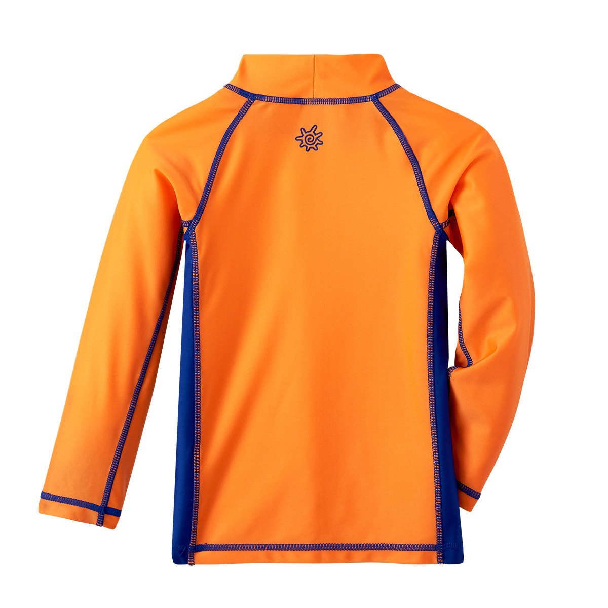 Orange Octopus UV SKINZ 50+UPF Boys Long Sleeve Active Sun /& Swim Shirt